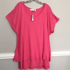 Old Navy Maternity Two Piece Coral Top. NWT